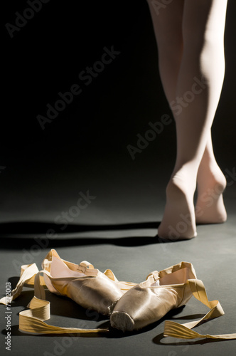 ballet schoes Obraz na płótnie