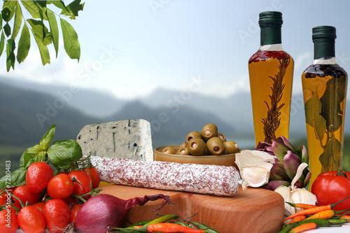 Fotografie, Obraz  Essen italienisch, gourmet