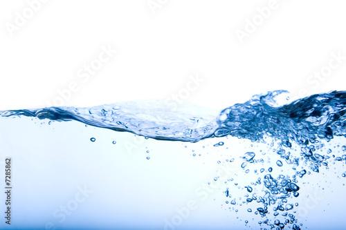 Leinwanddruck Bild - Tyler Olson : Bubble and Wave