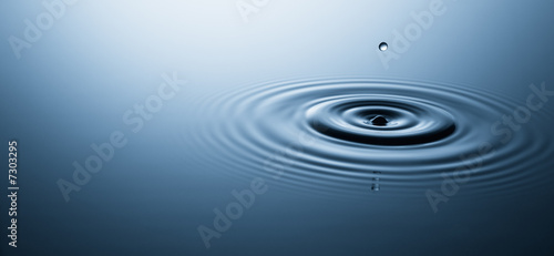 canvas print motiv - Okea : water drop