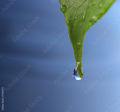 Akustikstoff - water drop