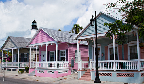 Key West Cottages Fototapeta