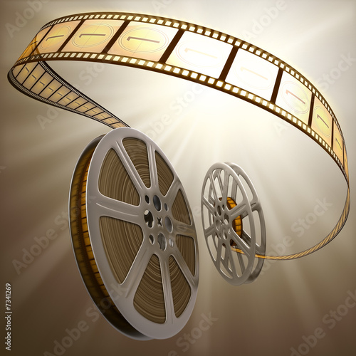 Film Reel Backlight #7341269