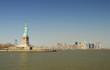 Manhattan Skyline and the Statue of Liberty, New York