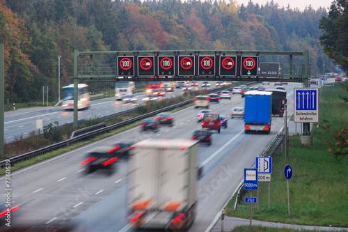 Fotografía  Verkehr Autobahn Dämmerung