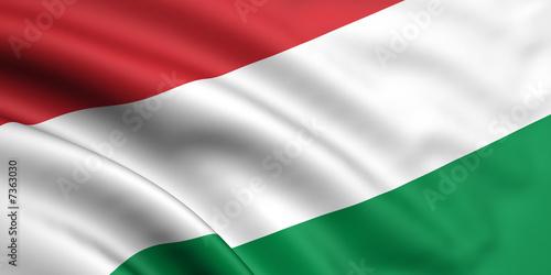 Fotografía Flag Of Hungary