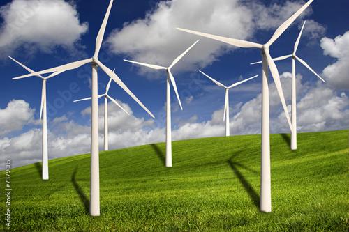 Fotografia  Wind turbines
