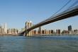 Brooklyn Bridge over the East River, New York City