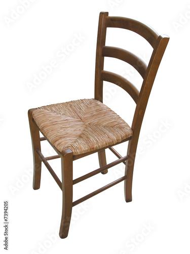 1617 chaise rustique tracs de dtourage inclus - Chaise Rustique