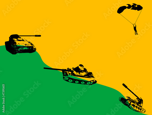Photo Hill with tanks