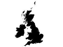 British Isles Vector Map