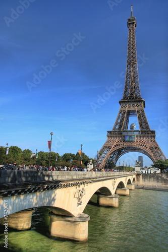 Photo Stands Paris Eiffel