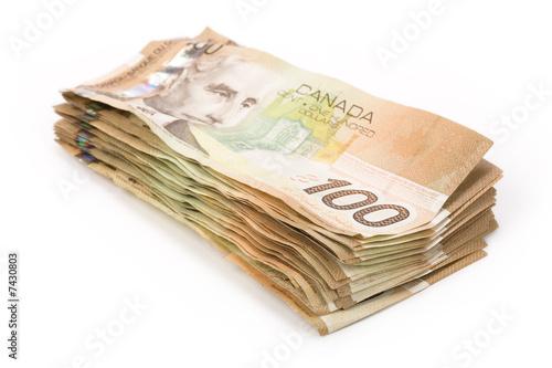 canadian dollars Fototapeta