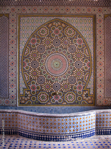 Fontaine arabe Tapéta, Fotótapéta