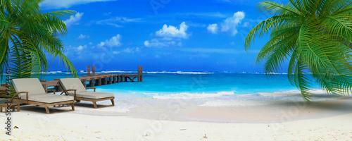 caraibean beach ponton 06 #7494461