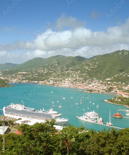 Photo Stands Caribbean Caribbean island scenery