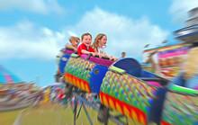 Kids On Fair Ride