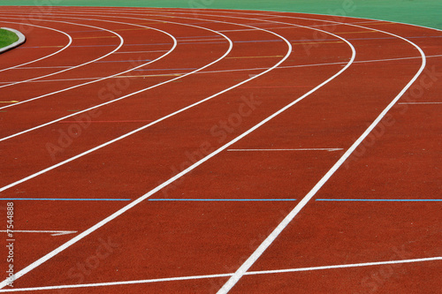 Photo piste d'athletisme
