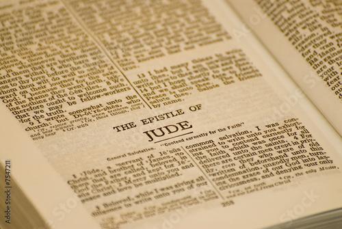 Fotografie, Obraz The epistle of Jude