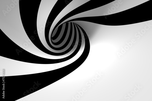 Photo sur Toile Spirale Abstract spiral