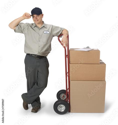 Fotografie, Obraz  Delivery Man