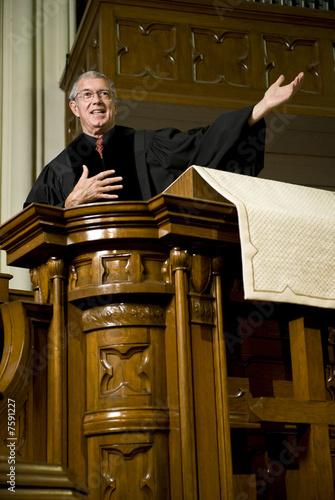 Fotografie, Obraz  Sermon