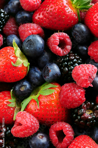 Fotografía  Assorted fresh berries