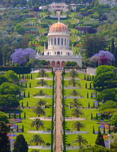 The Bahai Temple In Haifa