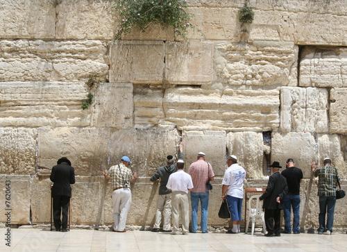 Fotobehang Midden Oosten The Wailing Wall