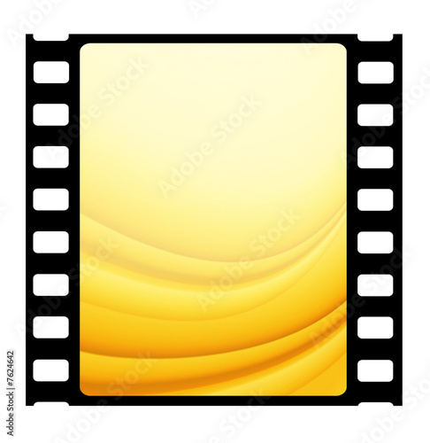 35mm Film frames Canvas Print