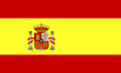 canvas print picture - spanien fahne spain flag