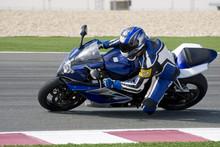 Superbike Racing On Track