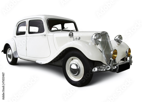Foto op Plexiglas Vintage cars wedding car