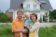 canvas print picture - Familienglueck