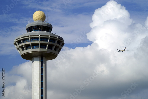 Canvas Prints Airport Airport control tower