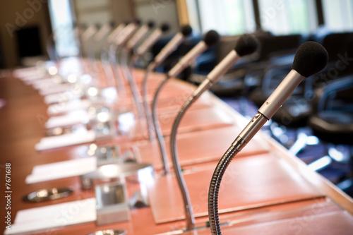 Fototapeta salle réunion conseil administration affaire business cadre dire obraz
