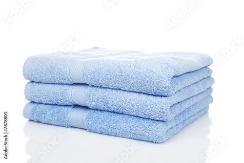 Valokuvatapetti Blue towels