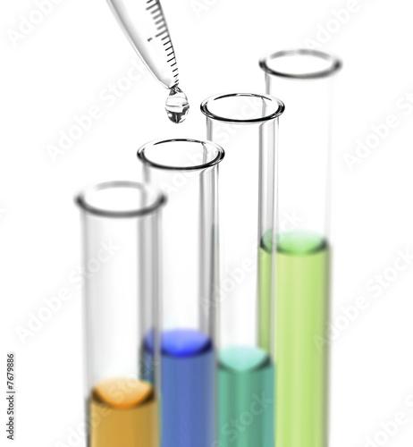 Fotografía test-tubes