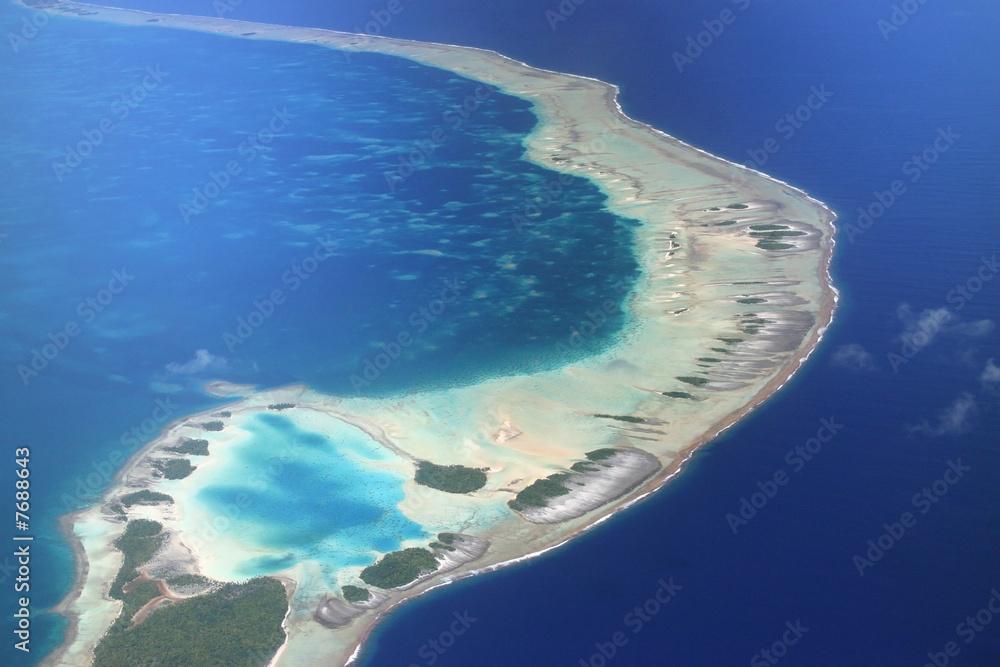 Fototapeta Pacific Atoll Rangiroa