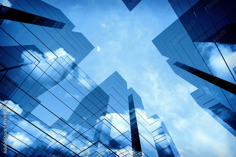 Fototapeta 3d skyscrapers