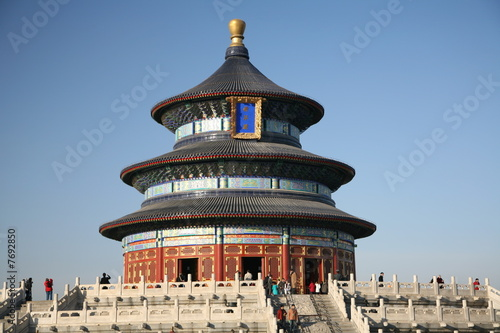 Deurstickers Peking Temple of Heaven I - Beijing, China