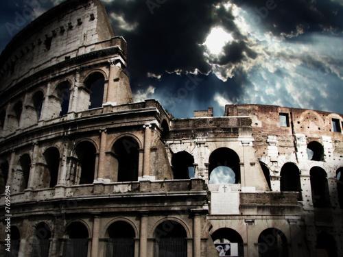 Fotografie, Obraz  The Colosseum in Rome