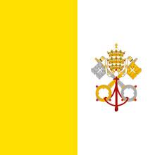 Drapeau Vatican True Colors