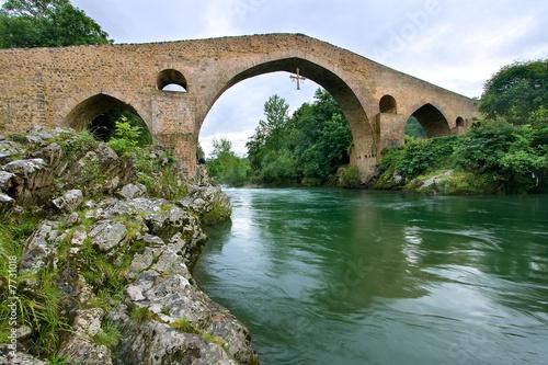 Puente Romano de Cangas de Onis, Asturias (España)
