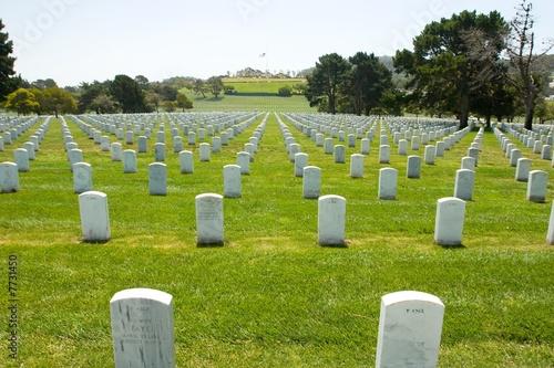 Foto op Canvas Begraafplaats Memorial Day