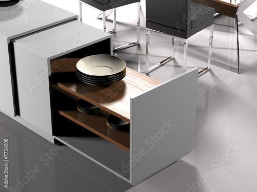 Valokuva  Modern living room (detail)