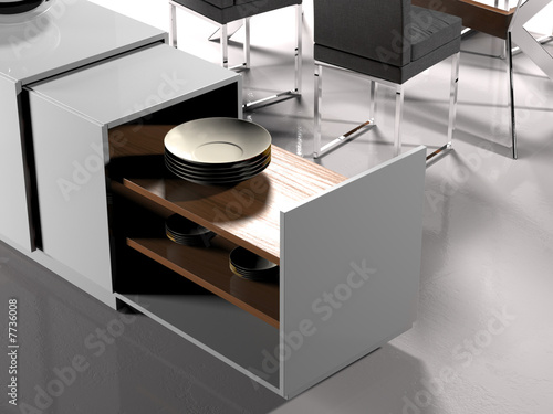 Fotografia, Obraz  Modern living room (detail)