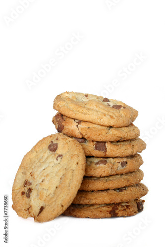Fotografie, Obraz  Cookies - Chocolate Chip