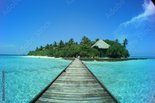 Foto Rollo Basic - Rannalhi - Maldives (von tagstiles.com)