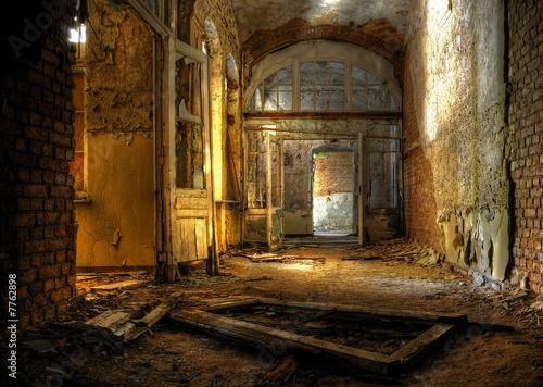 Autocollant pour porte Ancien hôpital Beelitz Beelitz Heilstätten 2